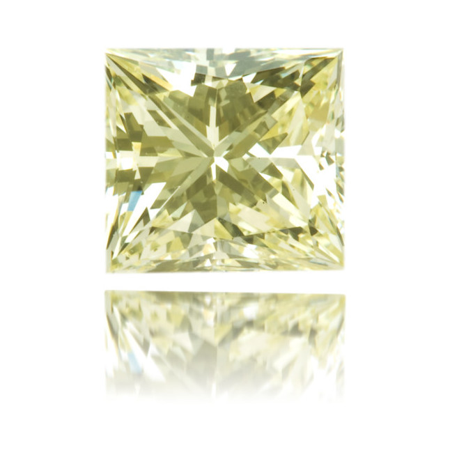Natural Yellow Diamond Square 1.04 ct Polished
