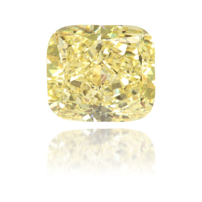 Natural Yellow Diamond Square 1.13 ct Polished