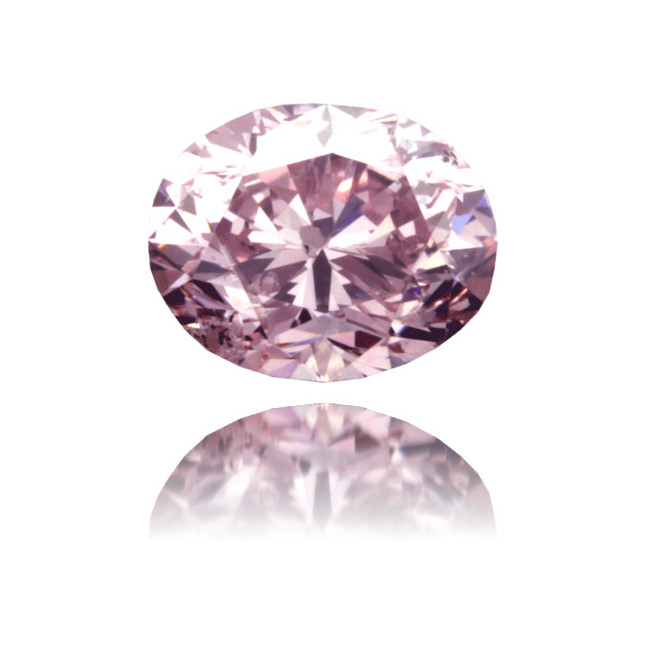 Natural Pink Diamond Cushion 1.16 ct Polished