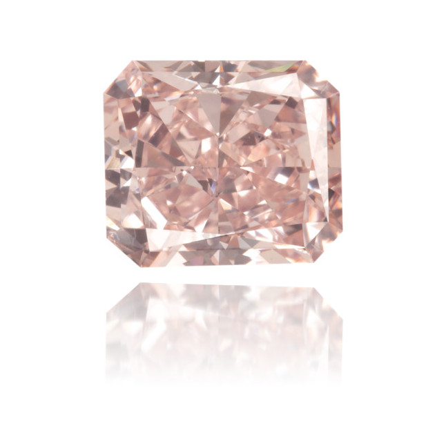 Natural Pink Diamond Rectangle 1.64 ct Polished