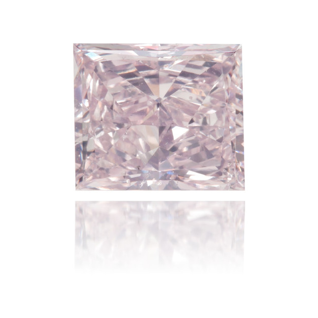 Natural Pink Diamond Square 1.74 ct Polished