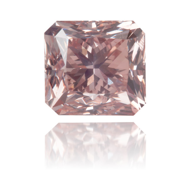 Natural Pink Diamond Square 1.99 ct Polished