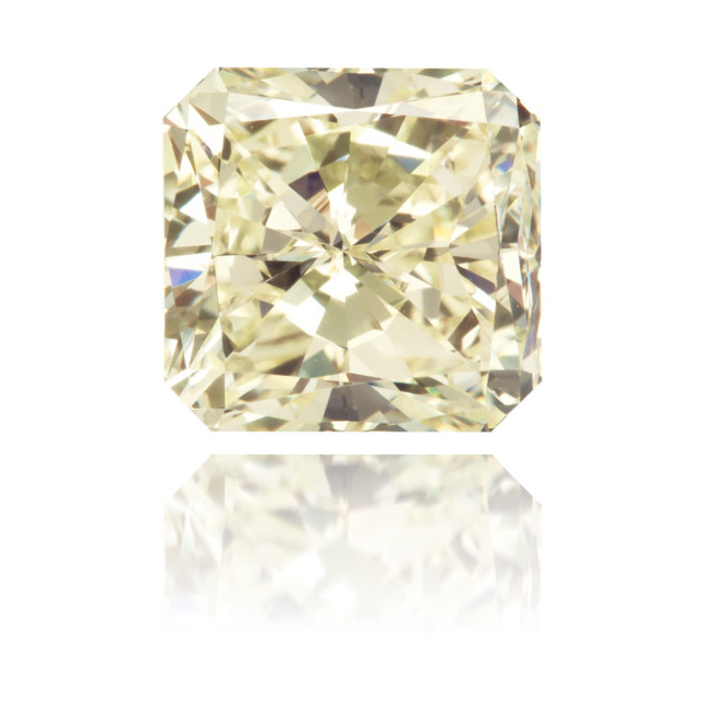 Natural Yellow Diamond Square 2.12 ct Polished