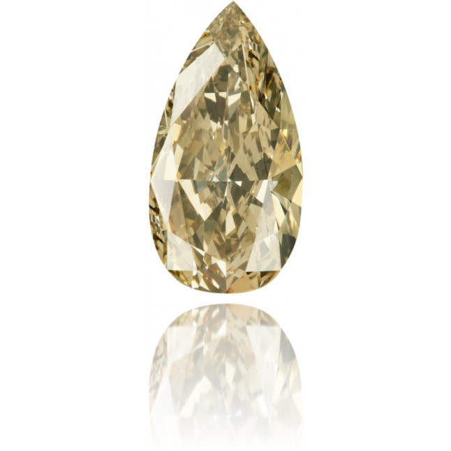 Natural Green Diamond Pear Shape 2.36 ct Polished