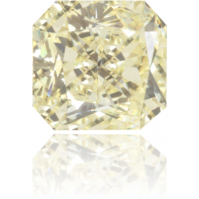 Natural Yellow Diamond Square 0.41 ct Polished
