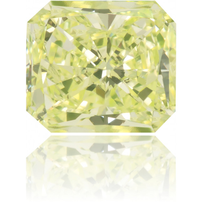 Natural Green Diamond Rectangle 0.33 ct Polished
