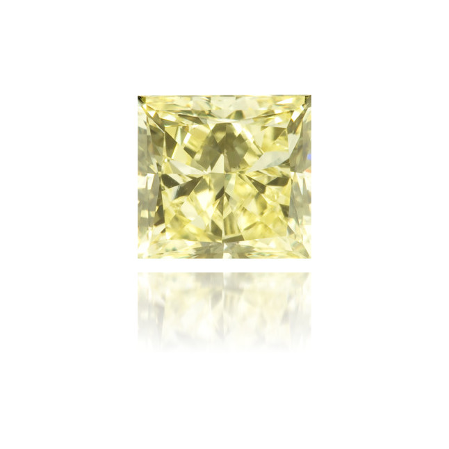 Natural Yellow Diamond Square 1.03 ct Polished