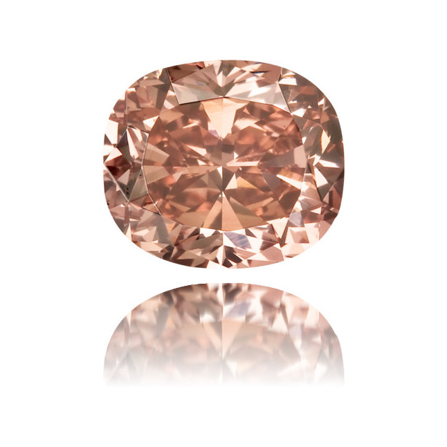 Natural Pink Diamond Cushion 0.48 ct Polished