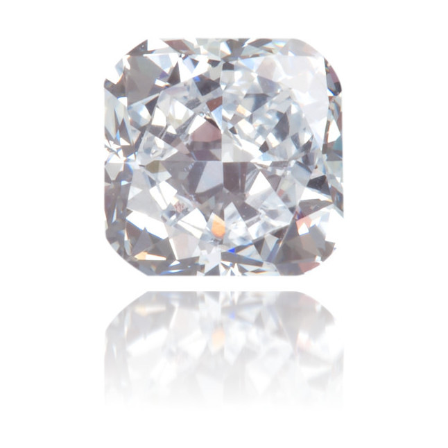 Natural Blue Diamond Square 0.39 ct Polished