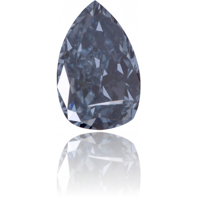 Natural Blue Diamond Pear Shape 0.40 ct Polished