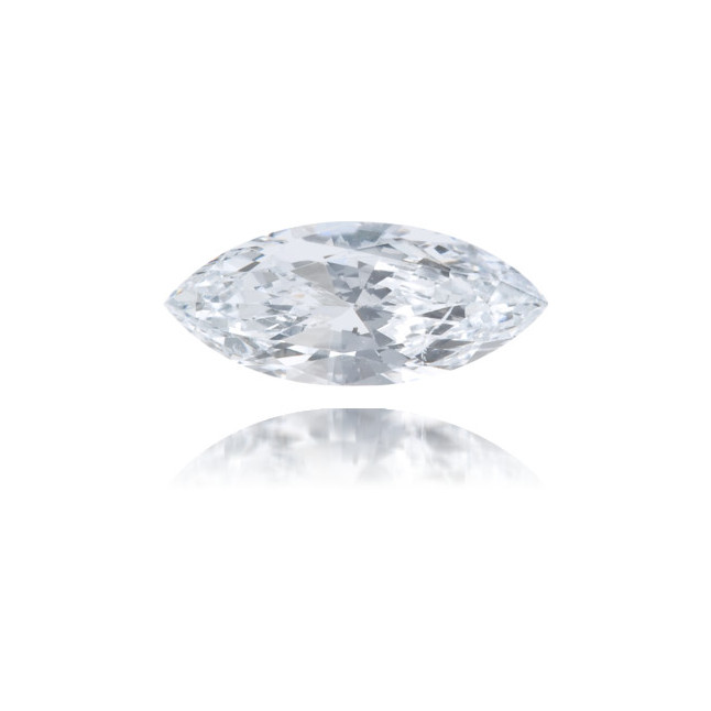 Natural Blue Diamond Marquise 0.27 ct Polished