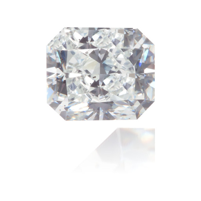 Natural Blue Diamond Rectangle 0.33 ct Polished