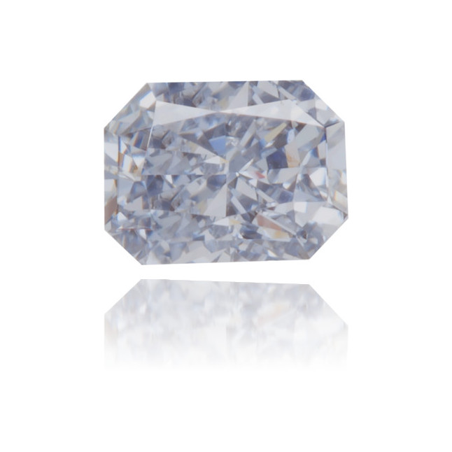 Natural Blue Diamond Rectangle 0.21 ct Polished