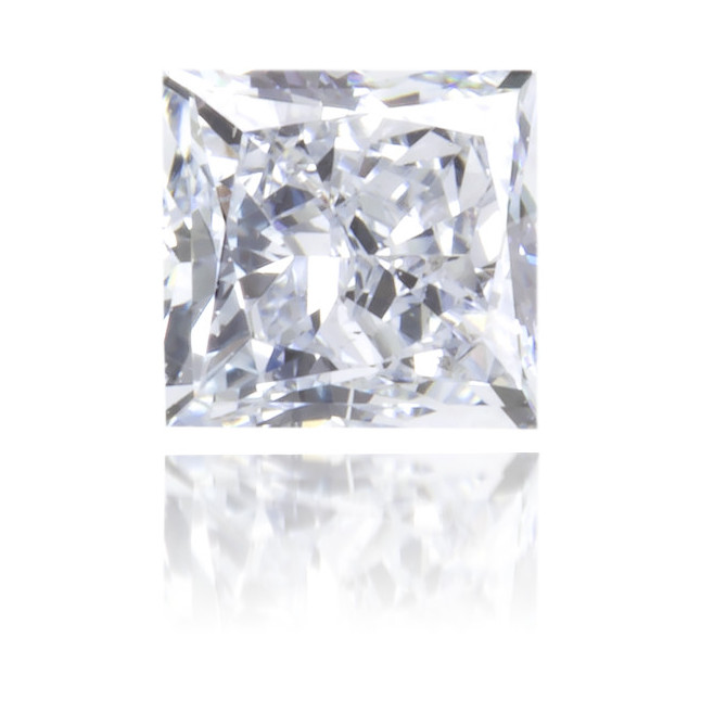 Natural Blue Diamond Square 0.21 ct Polished