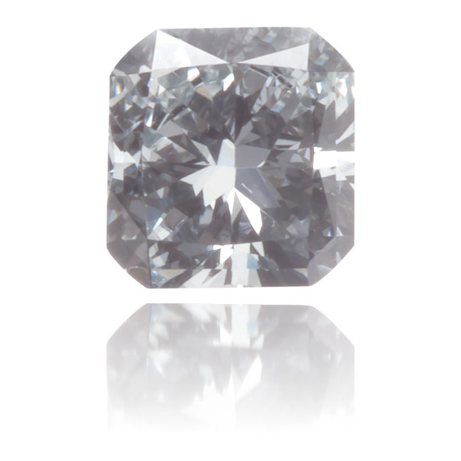 Natural Blue Diamond Square 0.14 ct Polished