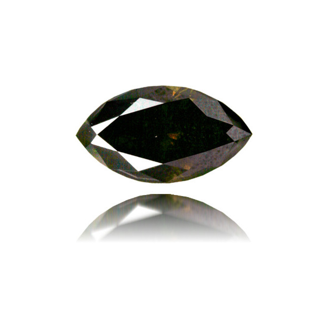 Natural Brown Diamond Marquise 1.14 ct Polished