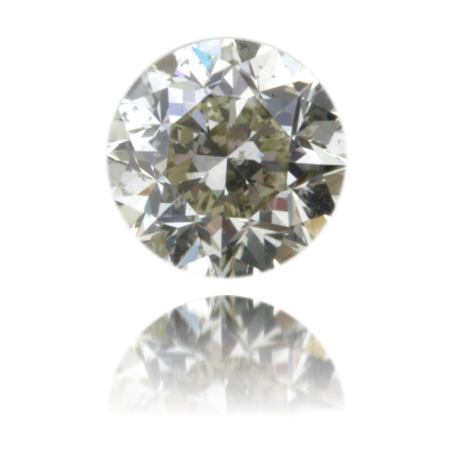 Natural Green Diamond Round 1.89 ct Polished