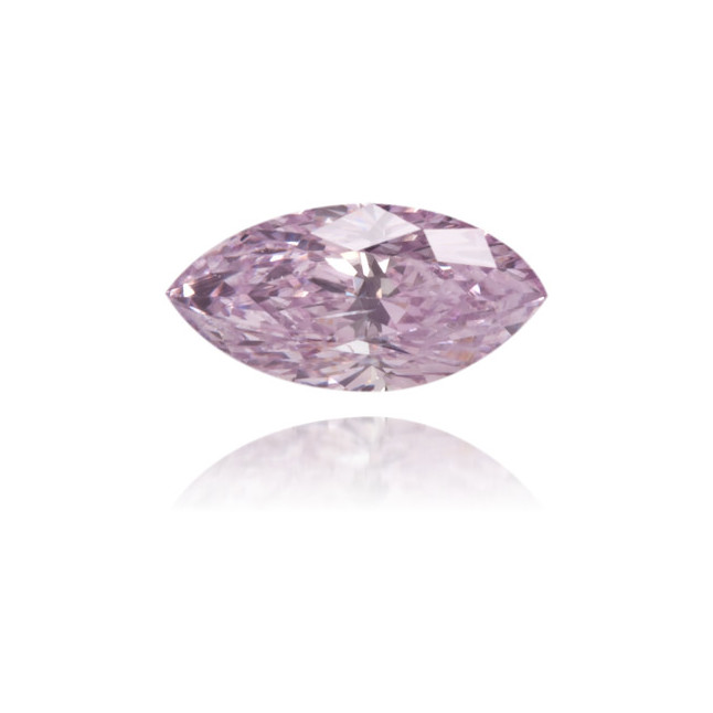 Natural Purple Diamond Marquise 0.15 ct Polished