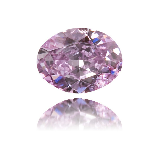 Natural Purple Diamond Cushion 0.09 ct Polished