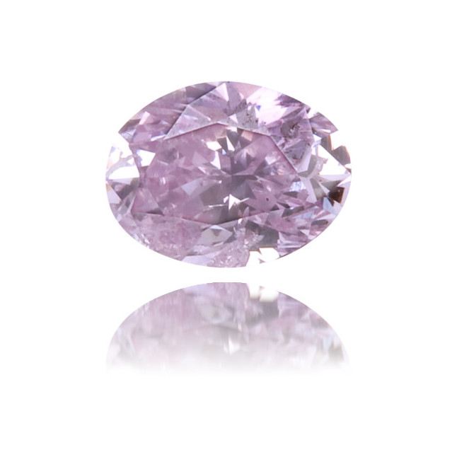 Natural Purple Diamond Cushion 0.12 ct Polished