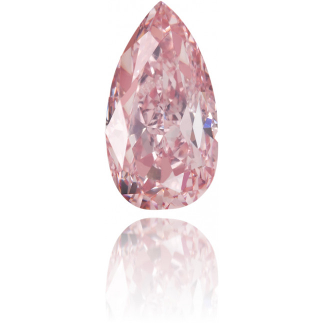 Natural Pink Diamond Pear Shape 0.59 ct Polished