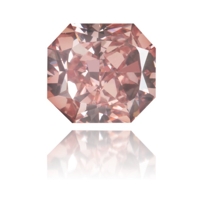 Natural Pink Diamond Rectangle 0.64 ct Polished