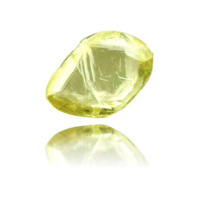 Natural Yellow Diamond Rough 1.81 ct Rough