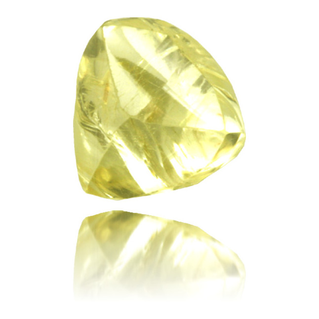 Natural Yellow Diamond Rough 1.25 ct Rough