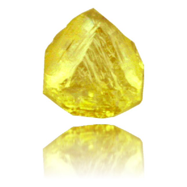 Natural Yellow Diamond Rough 0.39 ct Rough