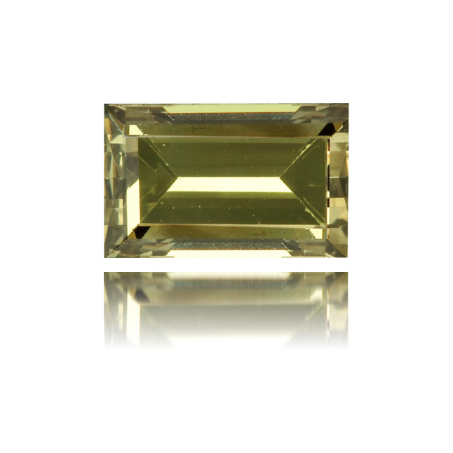 Natural Green Diamond Rectangle 0.47 ct Polished