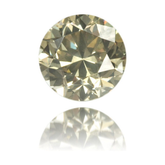 Natural Green Diamond Round 0.94 ct Polished