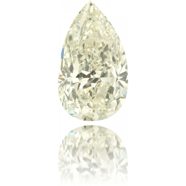 Natural Yellow Diamond Pear Shape 2.01 ct Polished
