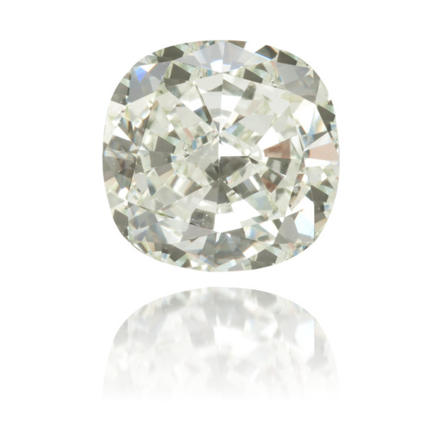 Natural Green Diamond Cushion 1.51 ct Polished