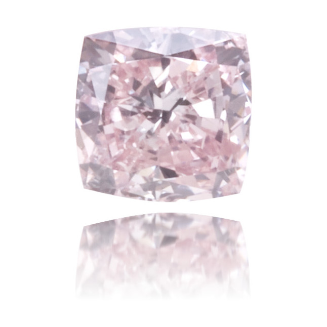 Natural Pink Diamond Square 0.18 ct Polished