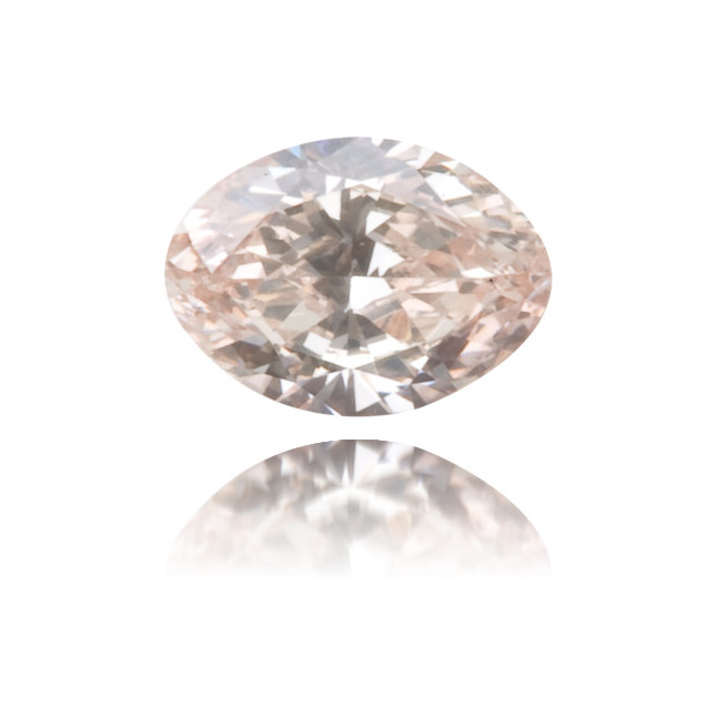 Natural Pink Diamond Oval 0.14 ct Polished