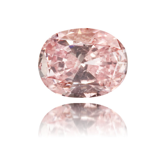 Natural Pink Diamond Oval 0.16 ct Polished