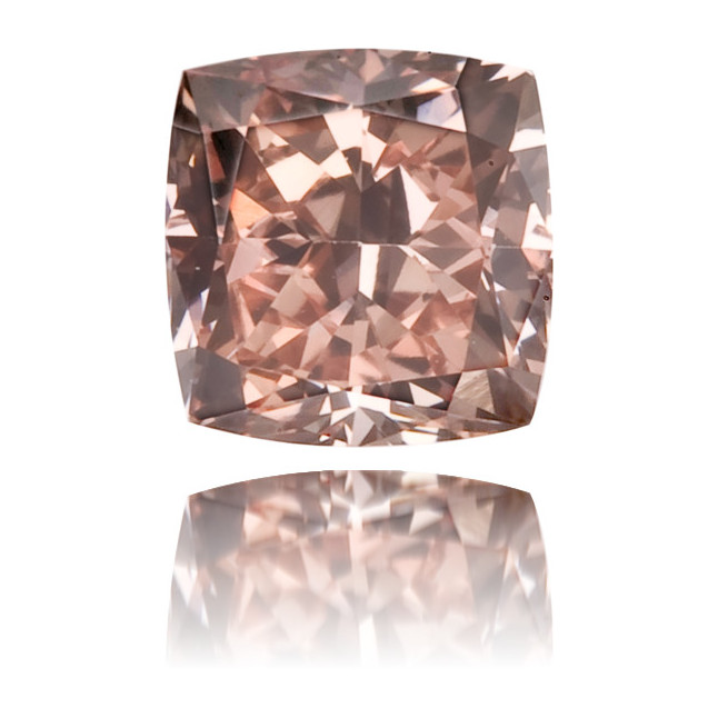 Natural Pink Diamond Square 0.23 ct Polished