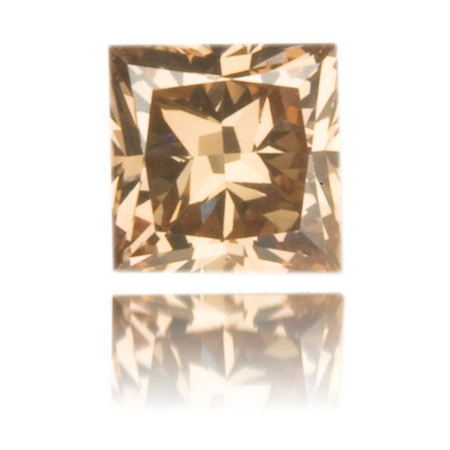 Natural Pink Diamond Square 0.16 ct Polished