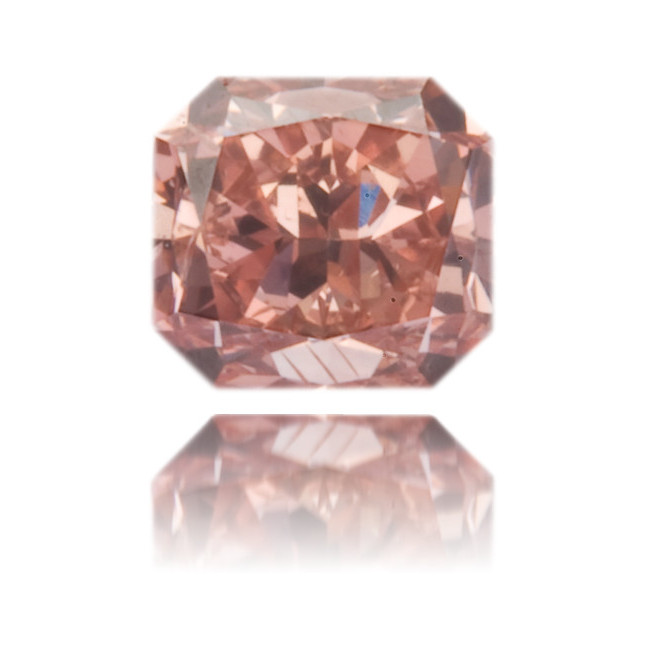 Natural Pink Diamond Rectangle 0.26 ct Polished