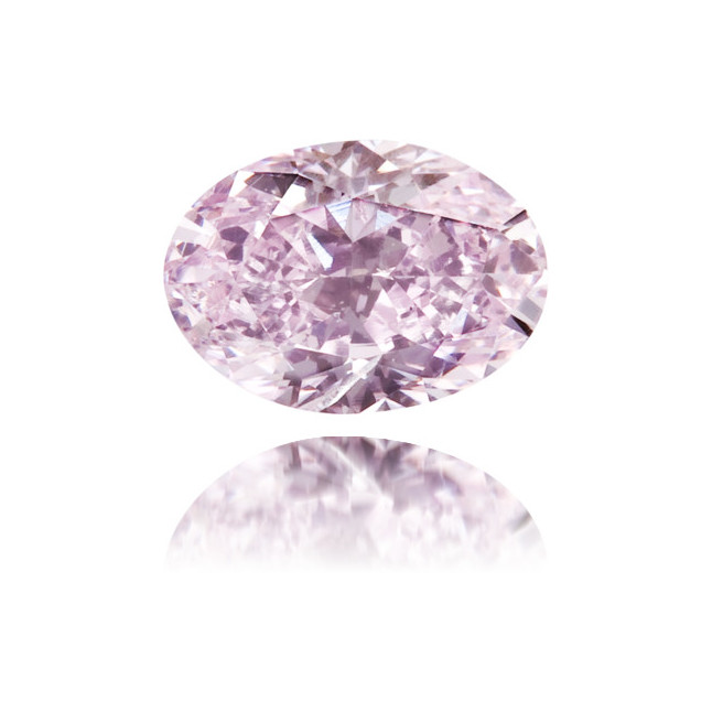 Natural Purple Diamond Oval 0.28 ct Polished