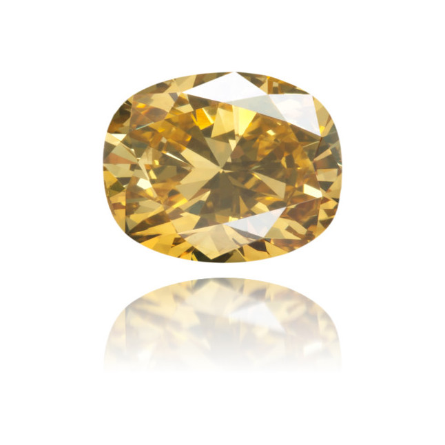 Natural Green Diamond Oval 0.68 ct Polished
