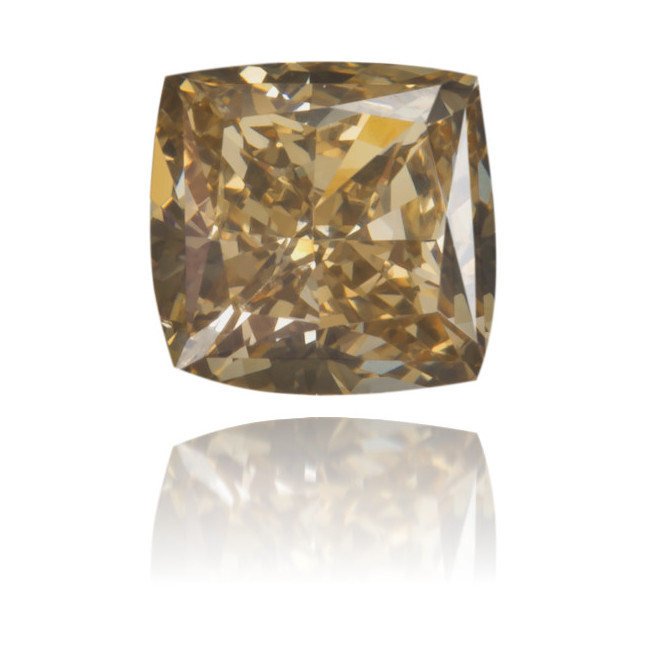 Natural Brown Diamond Square 0.47 ct Polished