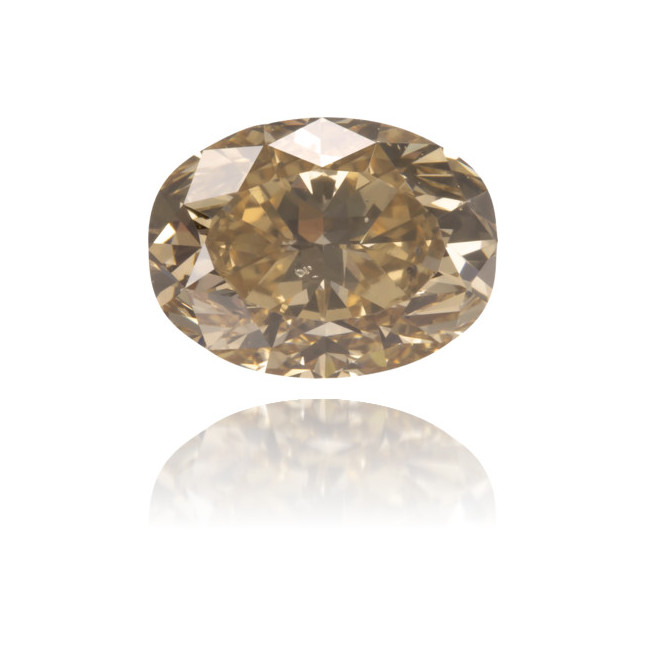 Natural Brown Diamond Oval 1.01 ct Polished