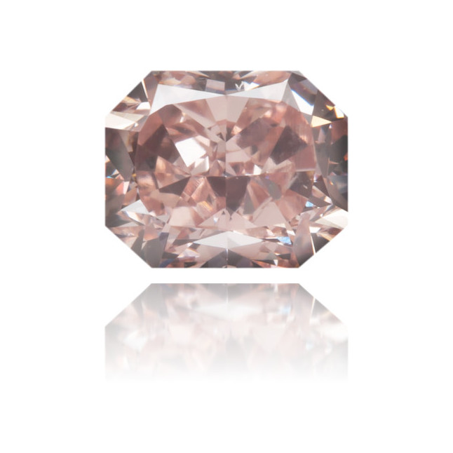Natural Pink Diamond Rectangle 0.65 ct Polished