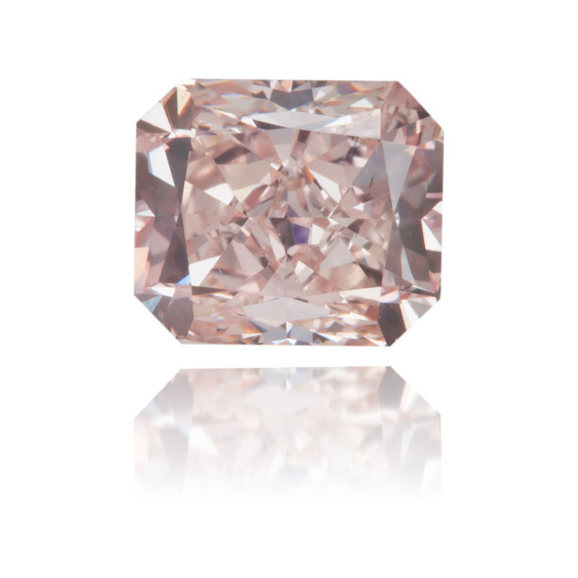 Natural Pink Diamond Rectangle 0.93 ct Polished