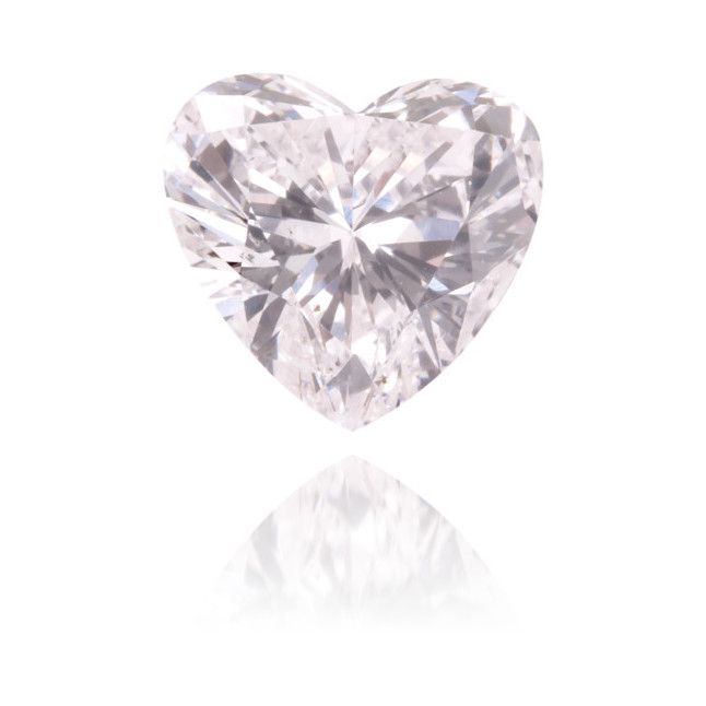 Natural Pink Diamond Heart Shape 0.54 ct Polished
