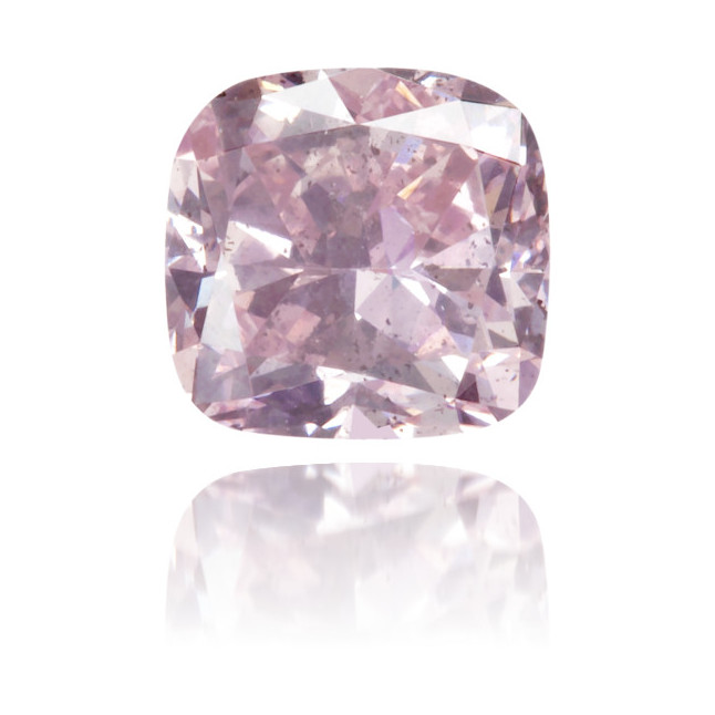 Natural Pink Diamond Square 0.46 ct Polished