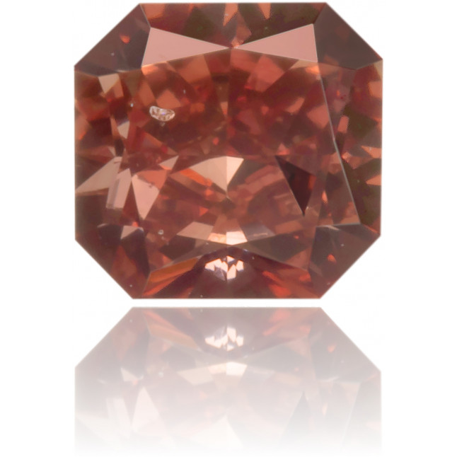 Natural Pink Diamond Square 0.31 ct Polished