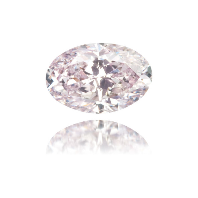Natural Purple Diamond Oval 0.26 ct Polished