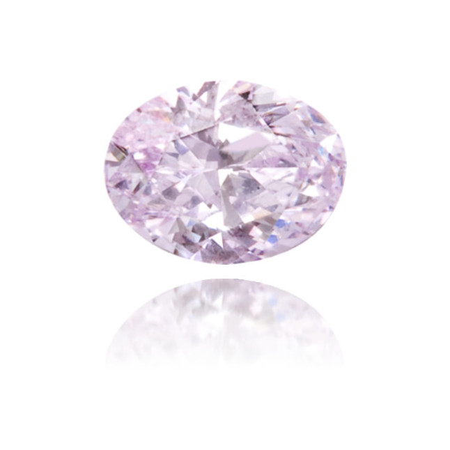 Natural Purple Diamond Oval 0.13 ct Polished